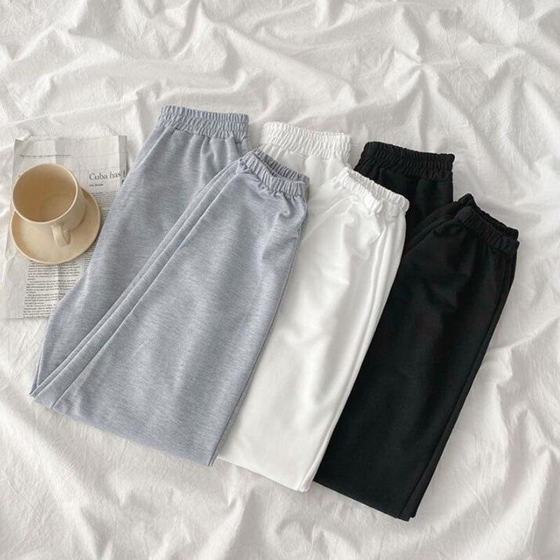 Fashion Womens Pants Casual Trousers High elastic wasit loose Harem Pants 2020 Korean Spring Summer Female Sweatpants