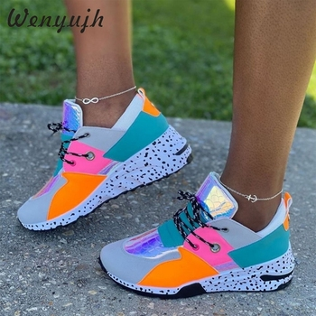 WENYUJH Women Casual Sneakers Snake Leopard Print Sport Shoes Thick Bottom Increased Shoes Comfortable Ladies Casual Shoes casual shoes sports shoes thick sole solid color simple versatile comfortable durable women s shoes sneakers