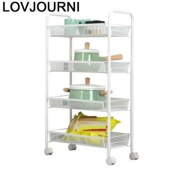 Especia repiss Etagere toallero De papel articulados De Cocina hogar Mensola Raf organizador Estantes Prateleira con Estantes De ruedas