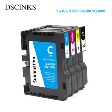 For SAWGRASS SG500 SG1000 Compatible ink cartridge with chip for Ricoh SAWGRASS SG500 SG1000 with subliamtion ink for USA