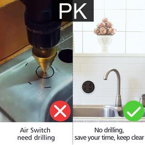 Image 5 - Gıda atık çöp öğütücüler değirmeni kablosuz anahtarı zamanlayıcı ab kore fiş 16A uzaktan kumanda yok boru yerine hava anahtarı