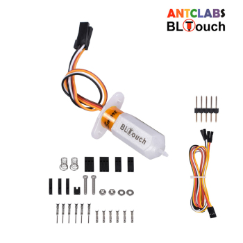 ANTCLABS BLTouch V3.1 Auto Leveling Sensor 3D Touch Sensor 3D Printer Parts For SKR V1.4 Turbo mini e3 MKS Reprap Kossel Printer delta rostock mini kossel aluminum magnetic effector carriage kit silver color anodized for diy kossel 3d printer