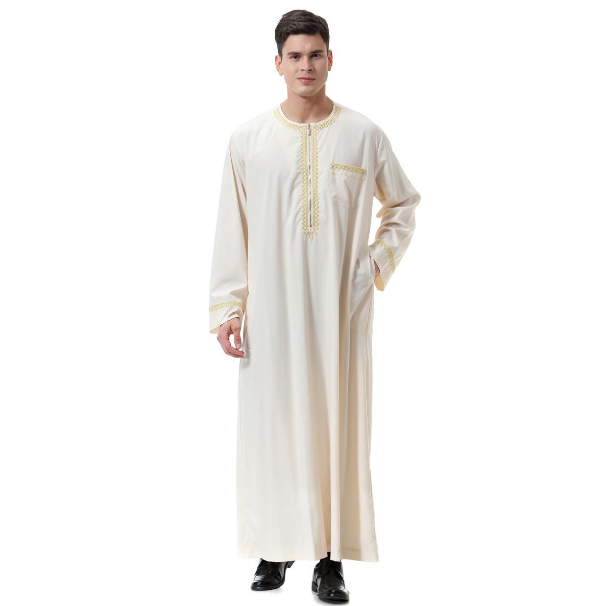 Herren Arabien Lange Tops Plus Dubai Kaftan Leinen Sommer Kapuze Kleid Shirt