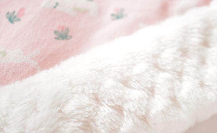 MOTOHOOD Winter Baby Blankets Newborn Swaddle Muslin Swaddle Baby Wrap Warm Baby Blanket Cotton Stroller Blankets  (10)