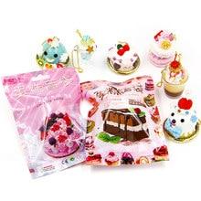 Sorte saco aleatório lodo saco cego brinquedos para crianças diy lizun slime bolo modelo artesanato jóias pingente decoração presentes surpresa