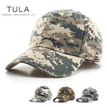 цена на 2020 Outdoor Sports Sun Hat men's baseball cap Tactical Army Fans Camping Brim Hat Women's Digital Camouflage Baseball Cap