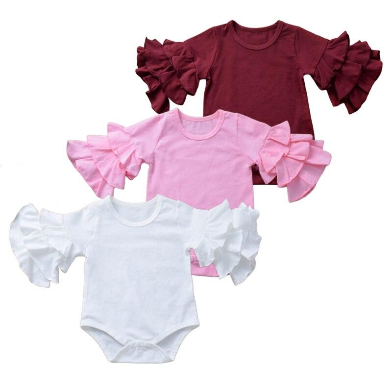 CafePress Aroundmyfinger Body Suit Cute Long Sleeve Infant Bodysuit Baby Romper Sky Blue