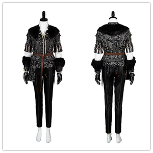 Wild Hunt Witcher Yennefer Outfit Cosplay Costume Hallween Carnival Full Sets Uniform Costumes For Women Girls(China)