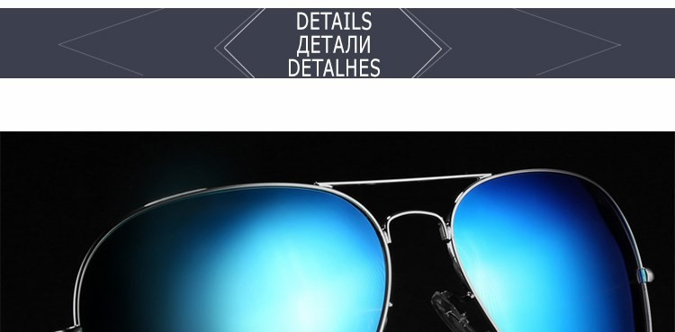 Classic Polarized Sunglass Designer Famous Vintage Pilot Sunglasses Lady Mirror Driving Sun Glasses For Women Men Fashion Shades (21)