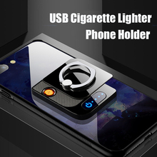 Ring-Holder-Stand Phone-Bracket Cigarette-Lighter Smartphone-Supports-Holder Huawei Rechargeable