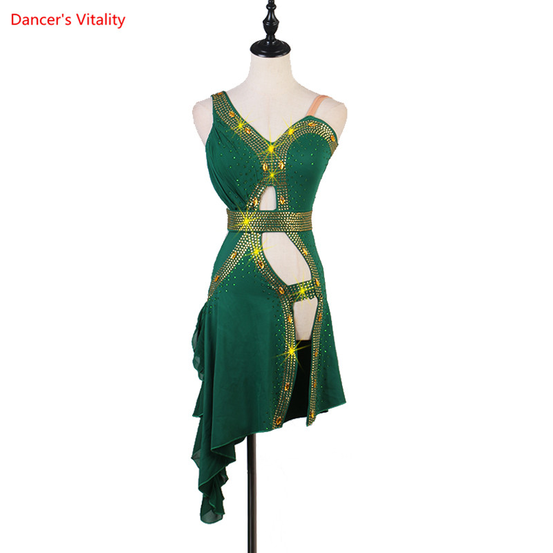 Women Latin Dance Dress Women Ballroom Dancing Dresses Latin Dance Costume Dance Latin Dresses Tango Dress Samba Skirts
