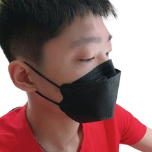 Melting-Spray Fish-Face-Mask FILTER Protect Disposable Individual-Package Anti-Dust 3D