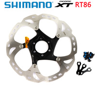 Shimano XT SM RT86 Ice Point Technology Brake Disc 6 Bolt M8000 Mountain Bikes Disc RT86 160MM 180MM MTB 1PCS
