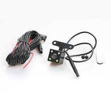 AZGIANT 3PCS 5pin 4led Rear View Camera Car Reverse 135 Degree Wide Angle Auto Parking Cameras Connecting Dash Cam