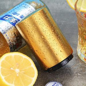 Image 4 - แม่เหล็กอัตโนมัติเปิดขวดเบียร์ที่เปิดขวดสแตนเลสแบบพกพาแม่เหล็กOpenersไวน์บาร์เครื่องมือMagnetische Bier Flesopener