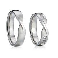 Custom Designer alliance wedding band couple rings jewelry stainless steel OSPV1832 (90)
