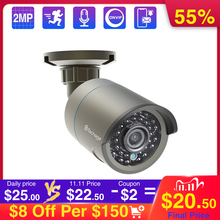 Techage 1080P 48 فولت POE IP كاميرا Onvif المراقبة الأمنية CCTV كاميرا 2MP في الهواء الطلق الأشعة تحت الحمراء للرؤية الليلية HD كاميرا لنظام POE P2P
