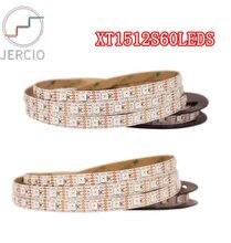 JERCIO WS2815 LIKE SK6812 IC DC12V RGB LED Pixels Strip Light Individually Addressable Dual-Signal 60 Pixel / 60leds m