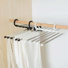 Многослойные висячие штаны стеллаж для хранения пять в сто Волшебная вешалка