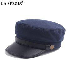 Винтажная кепка газетчика la spezia темно синие ретро кепки