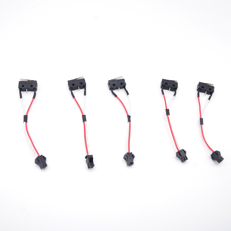 10 Pcs Home Appliance Parts Gas Water Heater Two-wire Micro Switch With Splinter