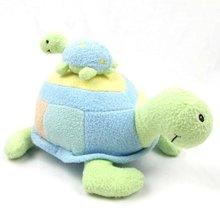 Дети Черепаха игрушки мини восхитительные небольшие устройства подарочные погремушки раннего обучения матери ребенка черепаха