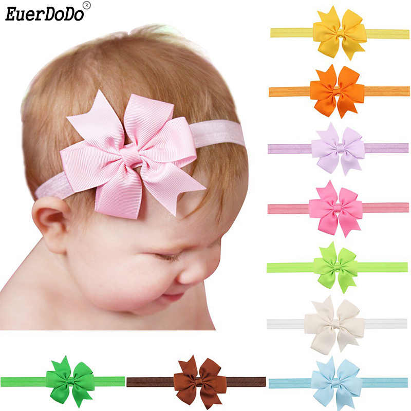 Baby Girl Headbands Newborn Bow Knot Hairband Hair Bands For Baby Girls Headwear Infant Gift Tiara Hair Accessories Toddler Girl