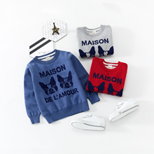 Autumn Winter baby Sweaters Warm Thick Long Sleeve Boys Clothing tops Kids Casual Cotton Animal Clothes For Children Costume 2018 autumn winter baby boy clothes girls bear owl pattern kids cartoon sweaters boys clothing girls clothing thick warm