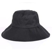 Hot Outdoor Women Bucket Hats Men Adult Flat Top Beach Camping Picnic Female Fisherman Golf Cap Travel Apparel Accessory