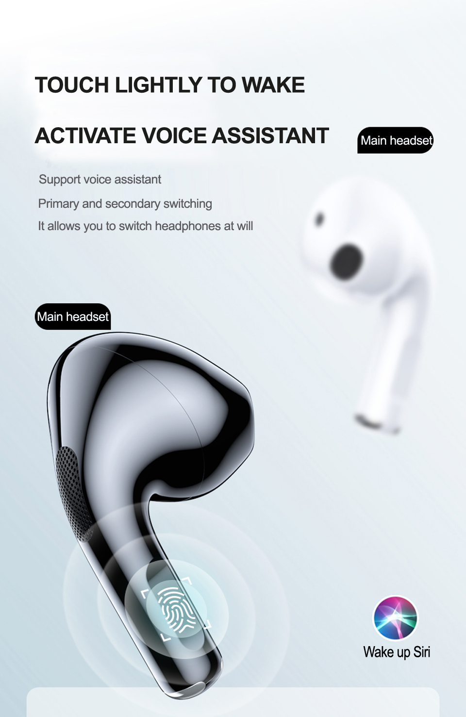 NEW Original Lenovo LP40 TWS Wireless Earphone Bluetooth 5.0 Dual Stereo Noise Reduction Bass Touch Control Long Standby 300mAH