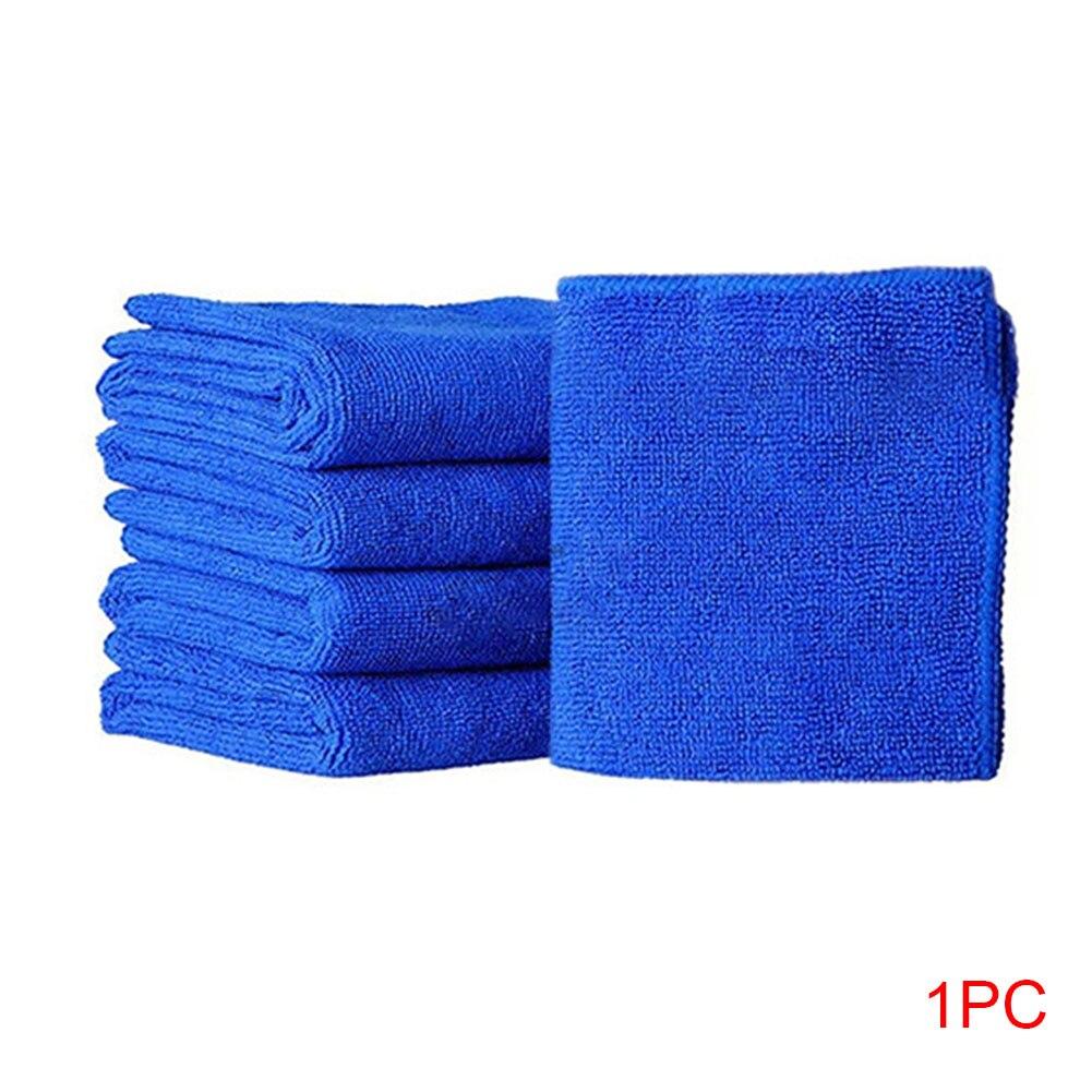 1/5pcs Auto Cleaning Microfiber Quick Dry Soft Cloths Home Cleaning Towel Washing Cloth Car Polishing Bath Towels Hotel 25x25cm
