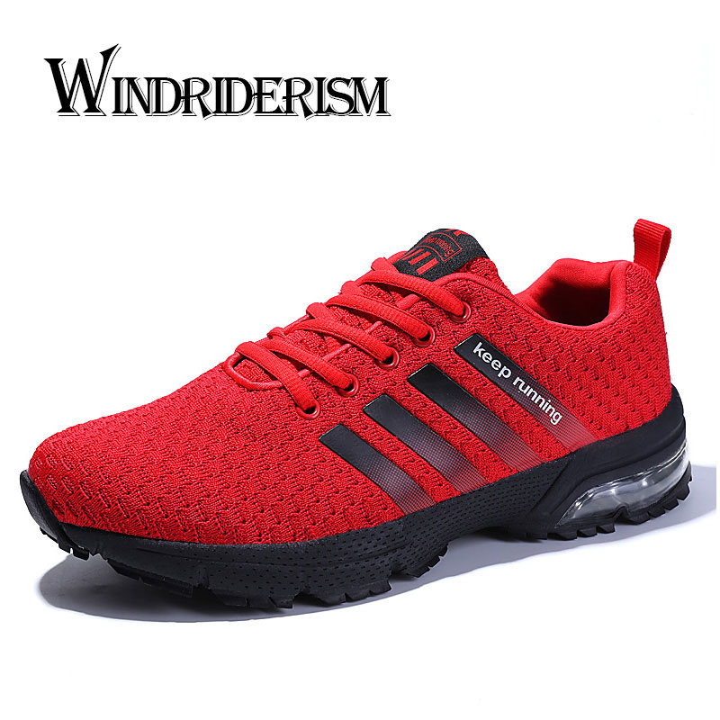 2019 Spring Autumn Women Running Shoes Wearable Air Cushion Women Sneakers Comfortable Casual FLyknit Flats Sports Shoes Men