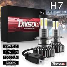 Автомобильные светодиодные передсветильник фары h7 Светильник