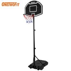 2020 réglable Basket-ball cerceau extérieur avec support pour adulte enfant Sport panier Homme Femme Portable Basket-ball but accessoires