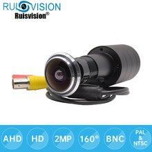 AHD SONY IMX323 1080P חתול עין דלת חור אבטחת בית צבע וידאו מעקב רחב זווית 4 ב 1 טלוויזיה במעגל סגור מצלמה משלוח חינם