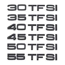 55 50 45 40 35 30 TFSI Logo Letters Word Trunk Sticker For Audi A3 A4 A5 A6 A7 A8 S4 S5 S3 S6 S7 S8 RS3 RS4 RS5 RS6 RS7 TT Q3 Q5
