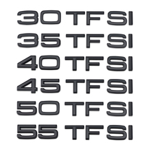 55 50 45 40 35 30 TFSI Logo Letters Word Trunk Sticker For Audi A3 A4 A5 A6 A7 A8 S4