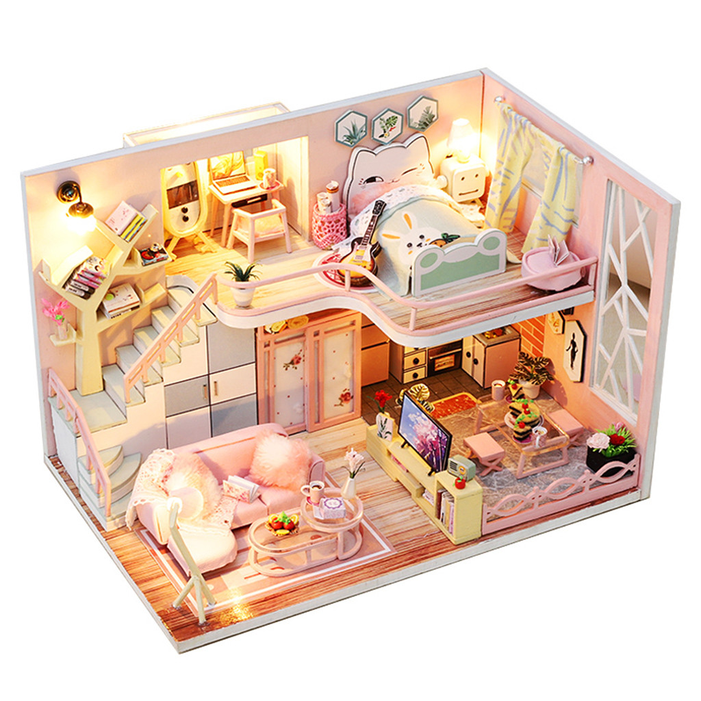 From Lily With Love DIY 3D Miniature Dollhouse Kit