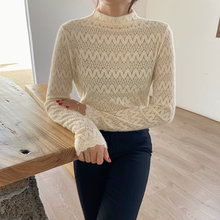 Женская кружевная блузка привлекательная универсальная рубашка