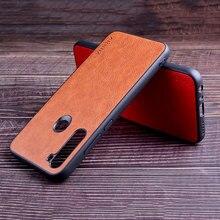 Xiaomi redmi note 8 pro 8 t 7 funda 고급 가죽 빈티지 litchi 패턴 스킨 카파 redmi 7a 8a 6 6a 5 pro k30 5g