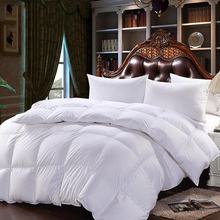 140 200 High grade Warm Duvet Cotton Duvet Cover White Duck Down Bedclothes Breathable Quilt Cover