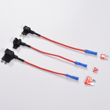 12V Car Blade Fuse Holder Add-a-circuit TAP Adapter Micro Mi