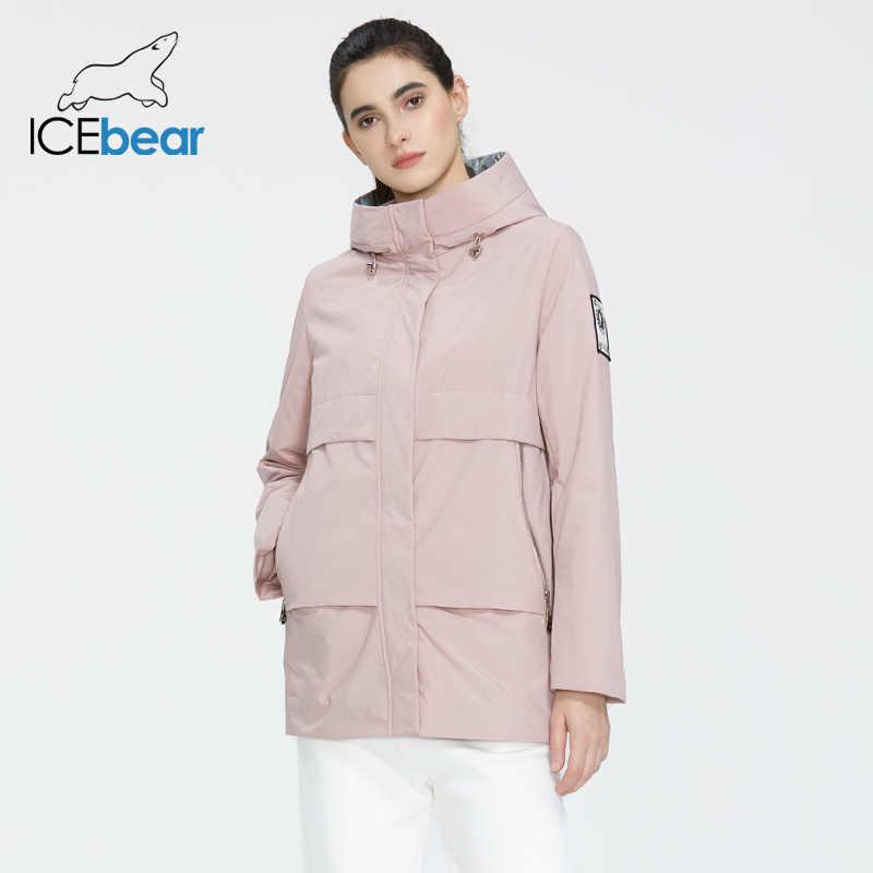 ICEbear 2020 קצר נשים מעיל נשים האביב חדש באיכות גבוהה נשים מעיל מותג הלבשה GWC20726I
