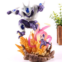 Dragon Ball Z Cooler Coora Final Form Figures PVC Anime Cartoon Action Figure Collectible Model Toy 21cm