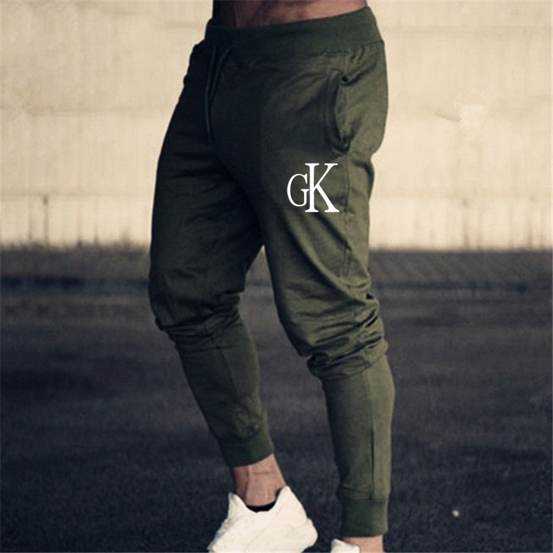 5 Colors Gym Sweatpants Joggers Skinny Pants Men Casual Trousers Male Fitness Workout Cotton Track Pants Autumn Trousers M-3xl