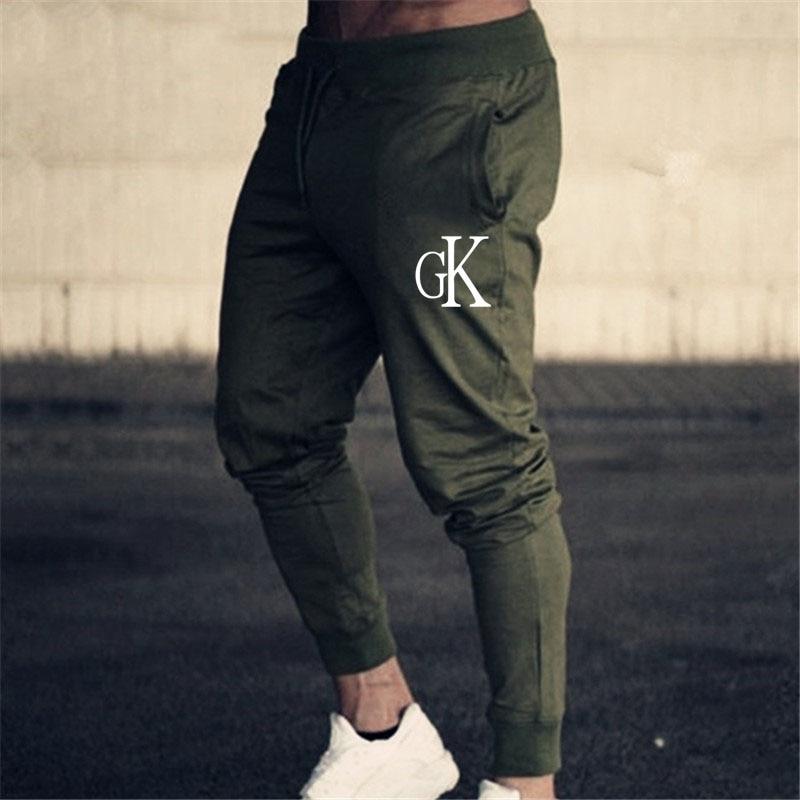 5 Colors Gym Sweatpants Joggers Skinny Pants Men Casual Trousers Male Fitness Workout Cotton Track Pants Autumn Trousers M-3xl