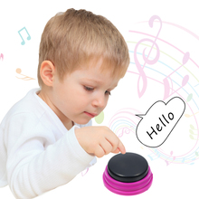 Buzzers Recordable Talking-Button Voice-Recording Learning Kids for Interactive-Toy Gifts