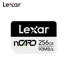 Lexar 256GB Cartão de Memória Flash Do Telefone 90 nCard Nano 128GB Cartão de Alta Velocidade Max 100% MB/s Original NM cartão 64GB Para Huawei Companheiro P30 20