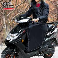 KEMiMOTO Scooters funda de pierna calentador de manta de rodilla para Vespa GTS impermeable a prueba de viento motocicleta invierno colcha para Honda para Peugeot