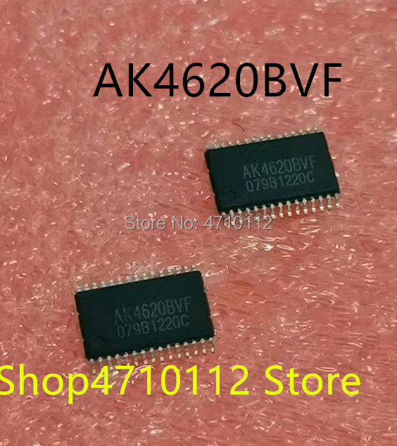 NEW 2PCS/LOT AK4620BVF AK4620BVF-E2 SSOP-30 IC